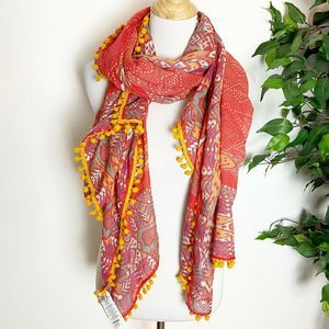 Prana Stefany Sarong Scarf 100% recycled Polyester